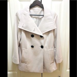 Calvin Klein Wool Blend Coat Women's Size 6, Small